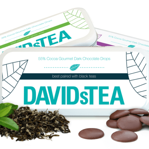 DAVIDsTEA Packaging