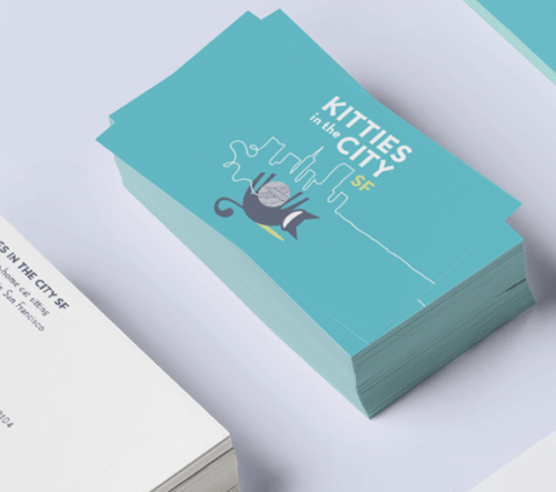 Kitties in the City SF Branding