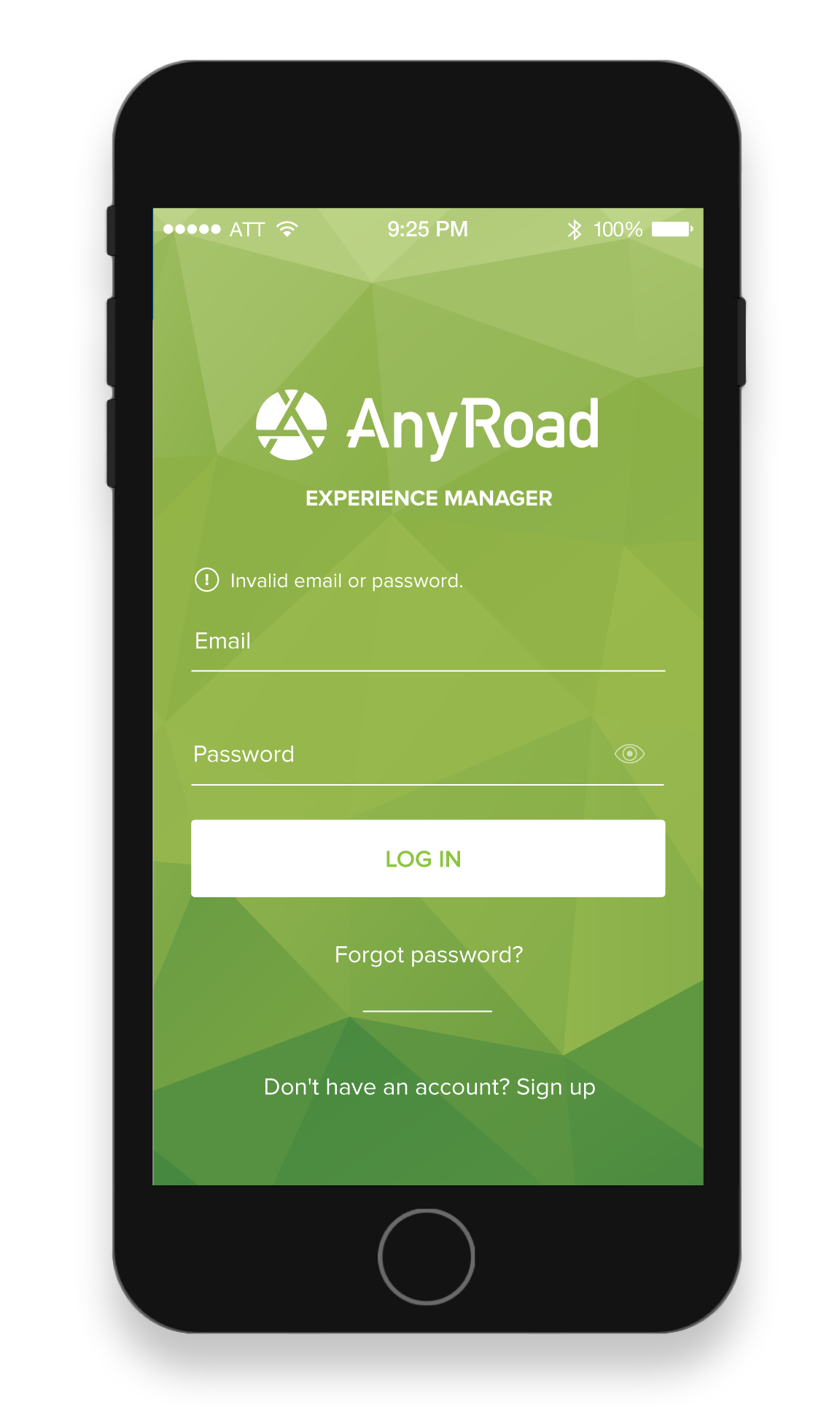 AnyRoad Front Desk for iPhone / iPad