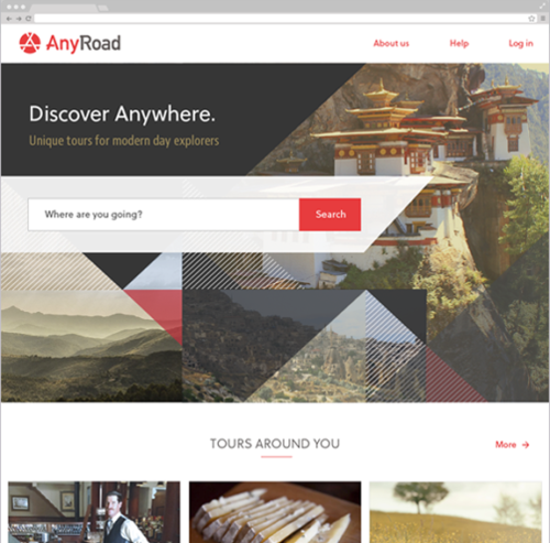 AnyRoad Marketplace – Rebrand / Redesign