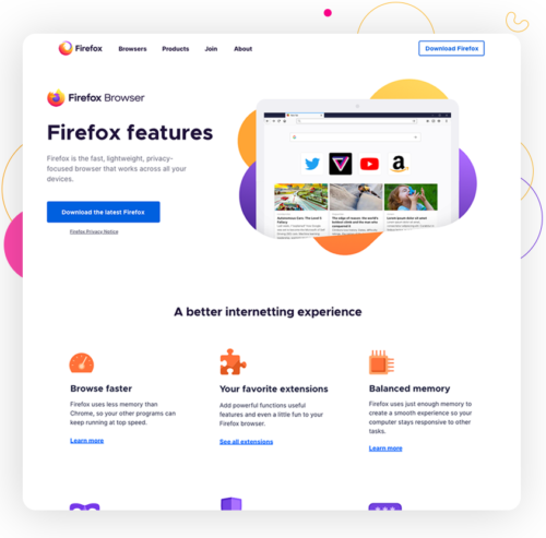 Firefox marketing rebrand